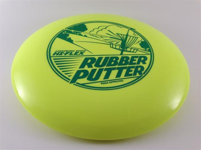 Yellow Rubber Putter