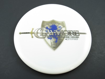 White Claymore with a shield